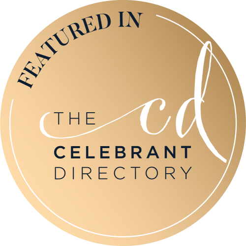 As featured in The Celebrant Directory