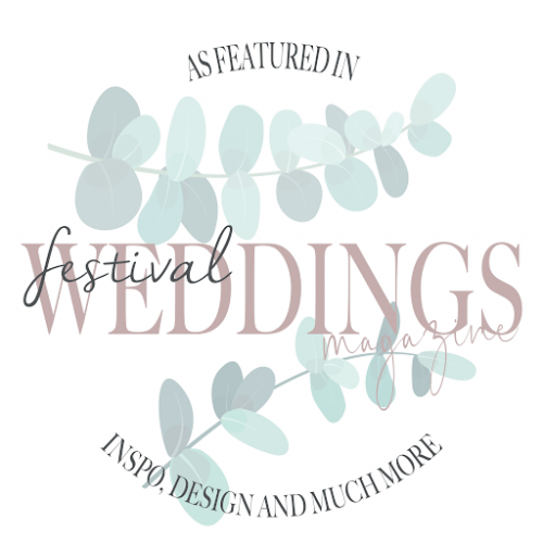 As featured in Festival Weddings Magazine